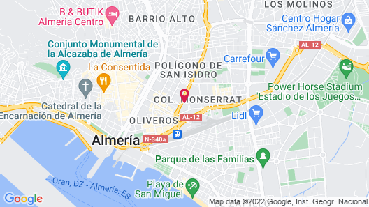 Hotel Embajador Map