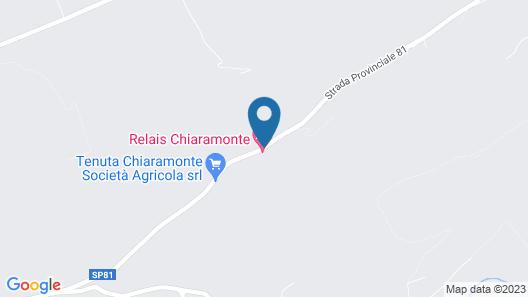 Relais Chiaramonte Map