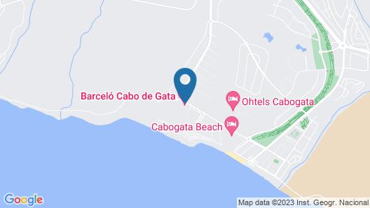 Barceló Cabo de Gata Map