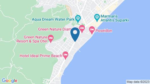 TUI BLUE Grand Azur - All Inclusive Map