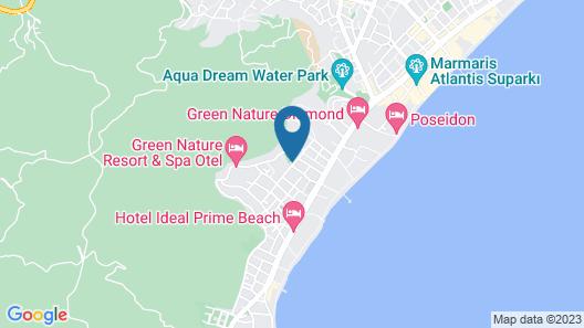Club Hotel Pineta - All Inclusive Map