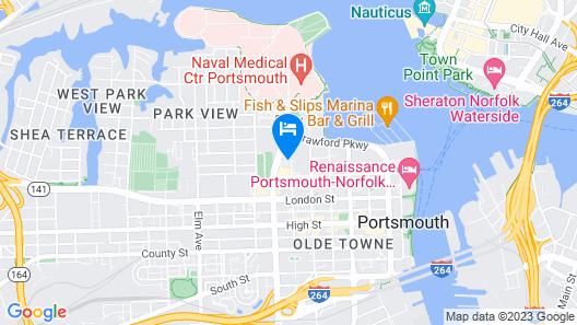 Riverwalk Inn & Suites Map