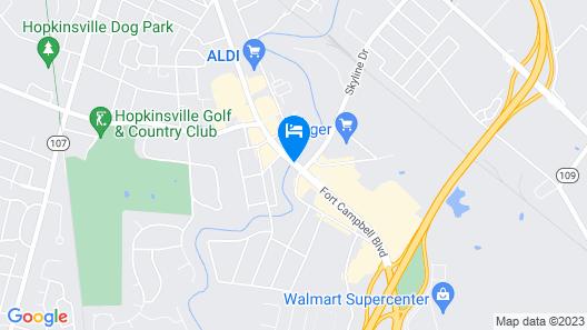 Wyndham Garden Hopkinsville Map