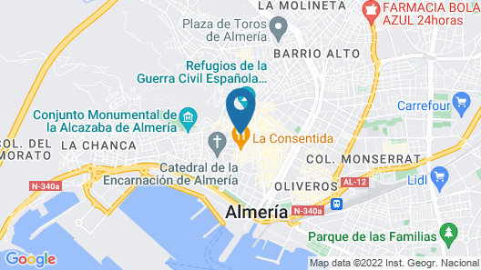 AC Hotel Almería by Marriott Map