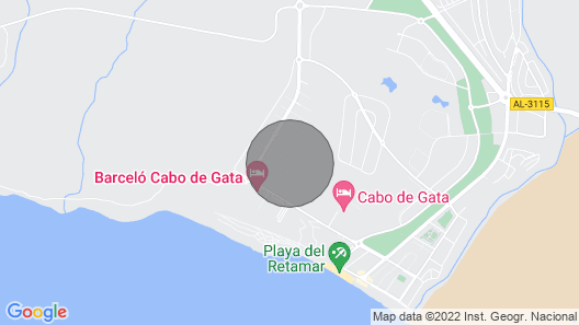 Beautiful apartment in El Toyo (next to Cabo de Gata) 300m from the beach. Wifi  Map