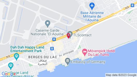 Hôtel Lac Léman Map