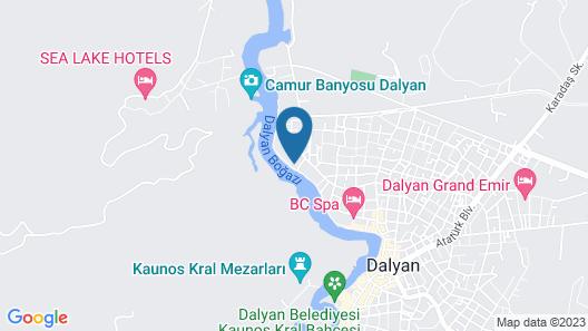 Hotel Riverside Map