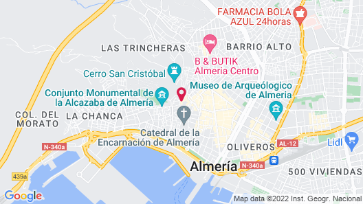 Aire Hotel & Ancient Baths Map