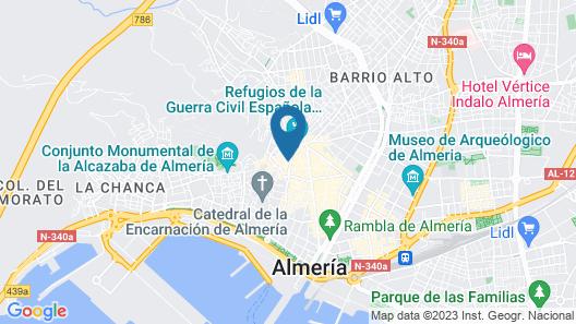 Apartamentos Torreluz Map