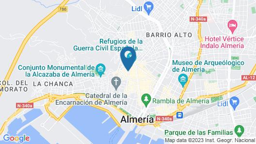 Torreluz Centro Hotel Map