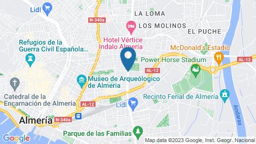 Avenida Hotel Almería Map