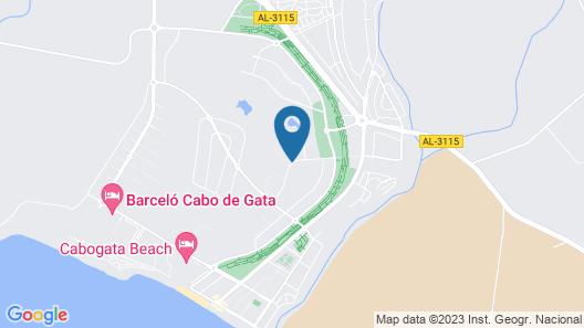 Apartamento Alborán-El Toyo Map