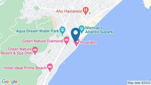 Avos Apartments Map