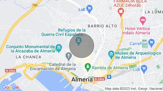 Puerta de Purchena - Lux & Cool - Apartment Map