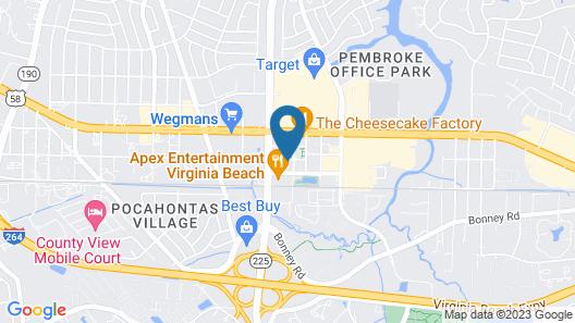 The Westin Virginia Beach Town Center Map