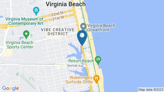Beach Carousel Motel Map