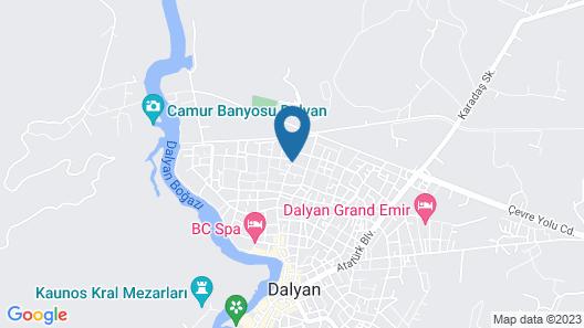 Murat Paşa Konağı Boutique Hotel Map