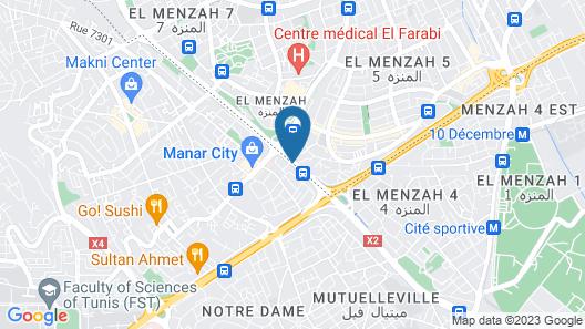 Hôtel L´Excellence Map