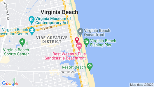 Boardwalk by Diamond Resorts Map