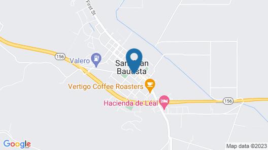 Posada De San Juan Map