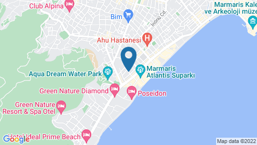 T & G Apartments Map