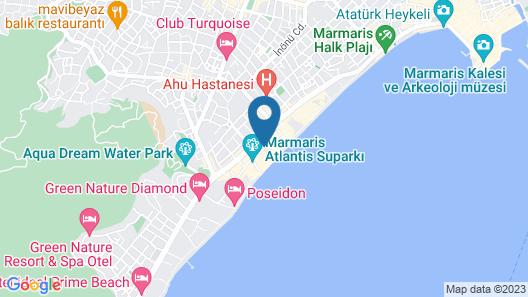 JDW Design Hotel Map