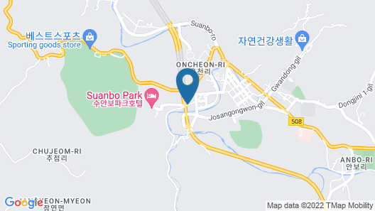 Suanbo Park Hotel Map