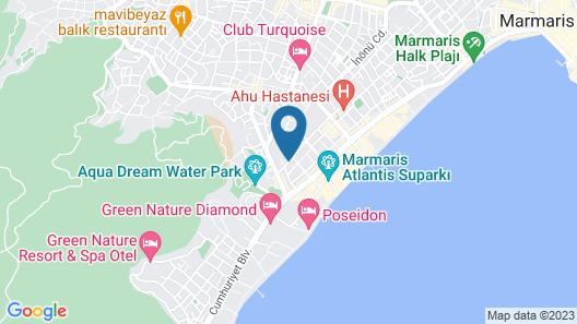 Club Palm Garden Keskin Map