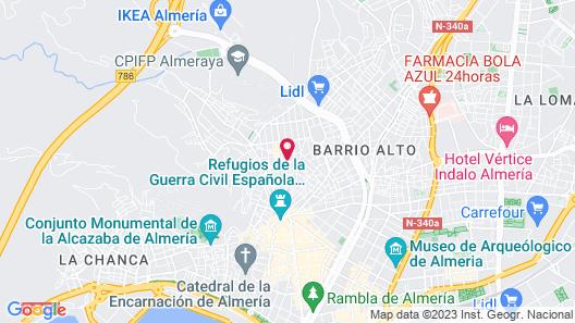 B&Butik Almería Centro Map