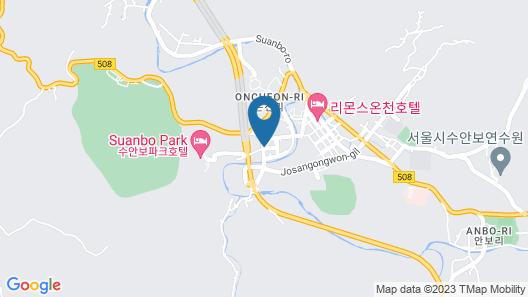 Corea Condo Suanbo Map
