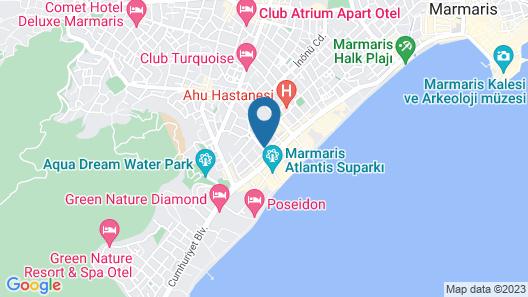 Twenty One Hotel Map