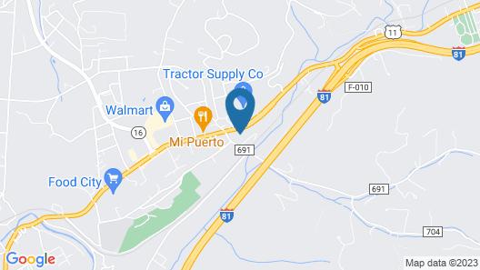 Econo Lodge Marion I-81 Map