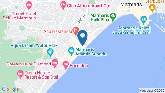 Orka Nergis Beach - All Inclusive Map
