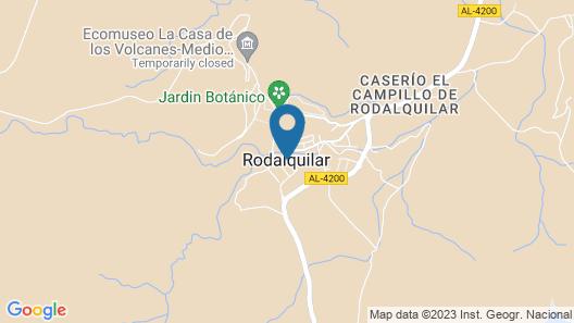 Casa Rural La Sirena Azul Map