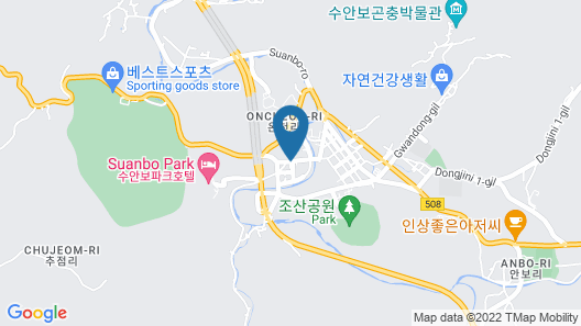 Suanbo Hotel Screen Map