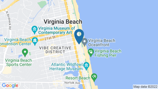 Country Inn & Suites by Radisson, Virginia Beach (Oceanfront), VA Map