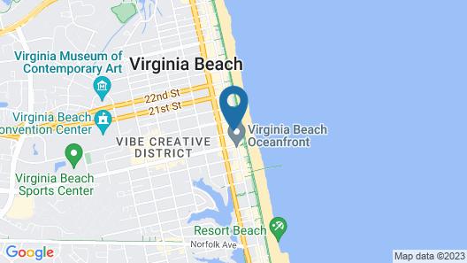 Country Inn & Suites by Radisson, Virginia Beach (Oceanfront), VA Map