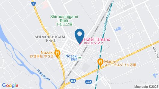 Hotel Tamano Map
