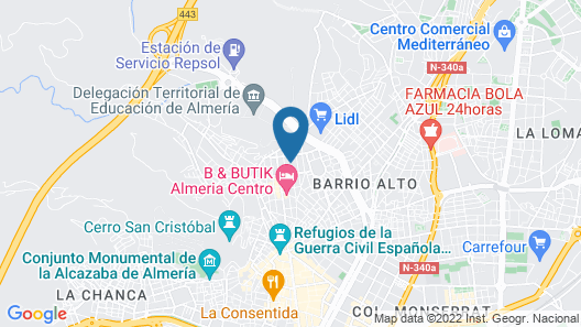 Bulring & Wifi Apartament Map