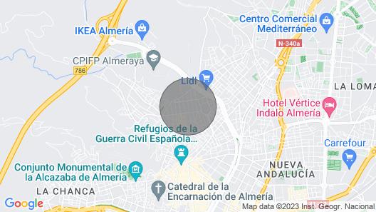 TOREROS CENTER WIFI APARTAMENT Map