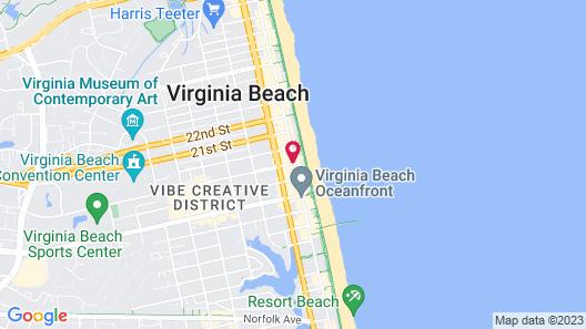 19 Atlantic Hotel Map