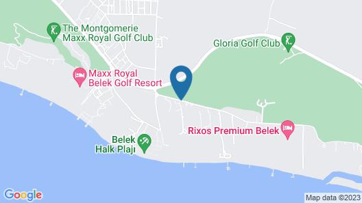 Papillon Ayscha Resort & Spa - All Inclusive Map