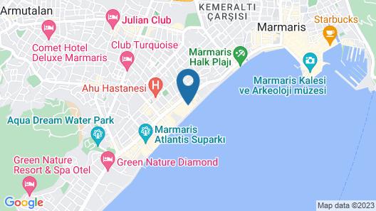 Hawaii Hotel Map