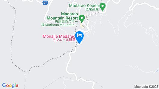 Hotel Silk in Madarao Map