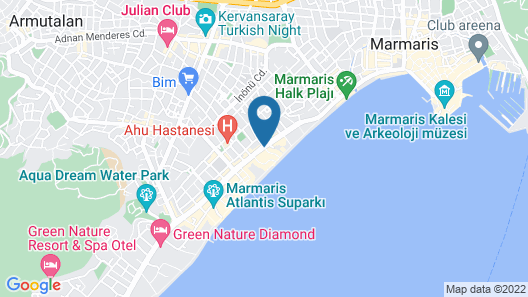 Reis Maris Hotel Map