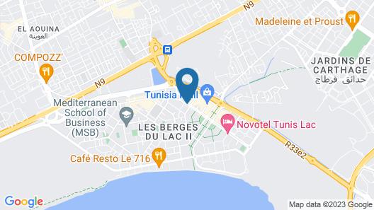 Corail Suites Hotel Map