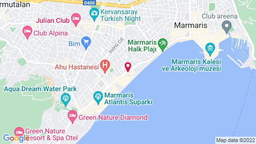 Aegean Park Hotel Map