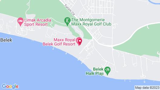 Maxx Royal Belek Golf Resort - All Inclusive Map