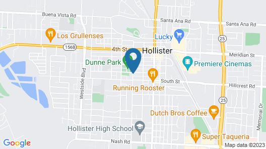 Joshua Inn Bed & Breakfast Map