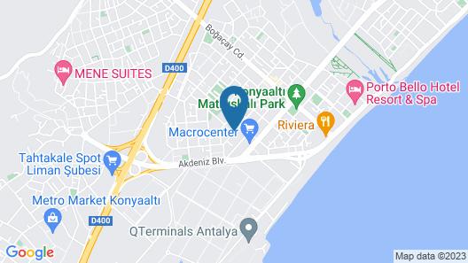 Onkel Rada Apart Hotel Map